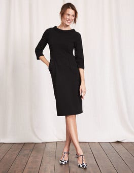 Black Iris Ottoman Dress