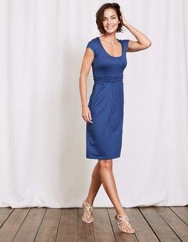 Santorini Blue Margot Jersey Dress
