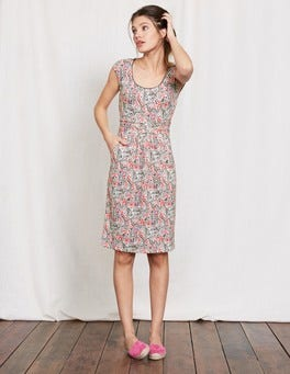 Pewter Paisley Margot Jersey Dress