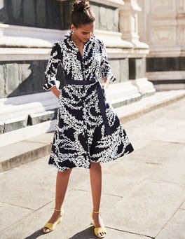 Posy Shirt Dress