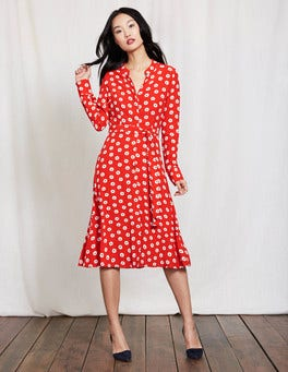 Snapdragon Textured Spot Jessica Dress