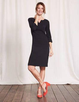 Black Genevieve Jersey Dress
