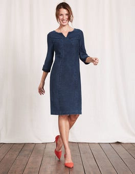 Dark Denim Genevieve Jersey Dress