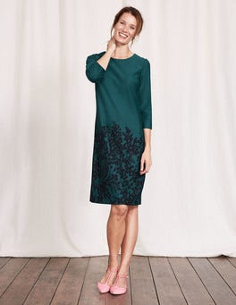 Drake Wisteria Bunch Lily Ponte Dress