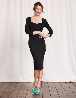 Black Rebecca Ponte Dress