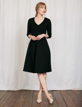 Black Bryony Ponte Dress