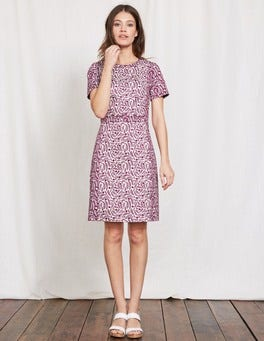 Summer Pudding Floral Vine Isla Dress
