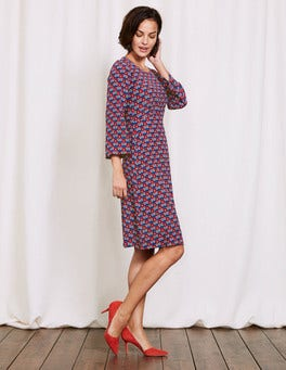 Meadow Spring Maritime Ditsy Celia Dress