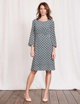 Drake Maritime Ditsy Celia Dress