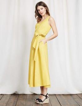 Mimosa Yellow Riviera Dress
