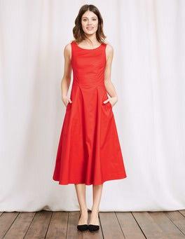 Red Elena Dress