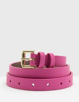 Party Pink Skinny Belt
