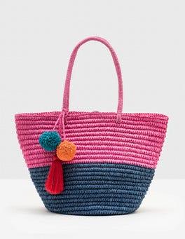 Mid Pink Donna Beach Bag