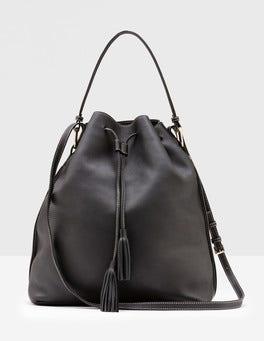 Maxi Tassel Pouch Bag