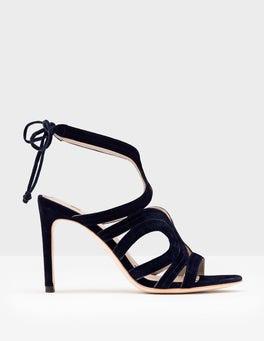 Navy Octavia Heels
