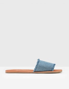 Bleach Denim Angelina Slide