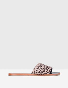 Grey Cheetah Angelina Slide