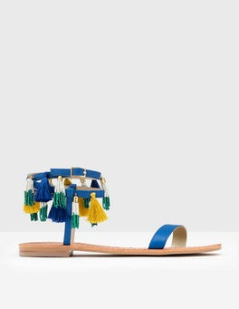 Island Sapphire Tassel Sandal