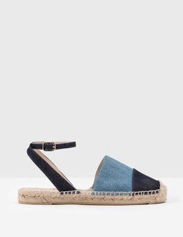 Bleach Denim Seville Espadrilles