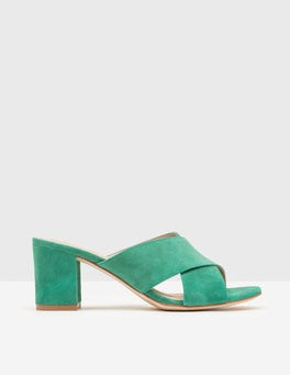 Greenhouse Pamela Suede Mules