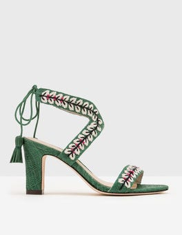 Caterina Embroidered Heels