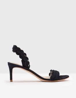 Navy Ramona Heels