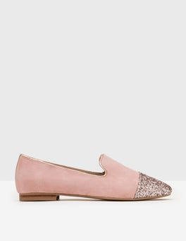 Chalky Pink Norah Slipper Shoes