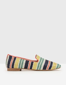 Multi Stripe Norah Slipper Shoes