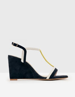 Navy Lucinda Wedges