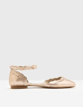 Rose Gold Elsie Flat