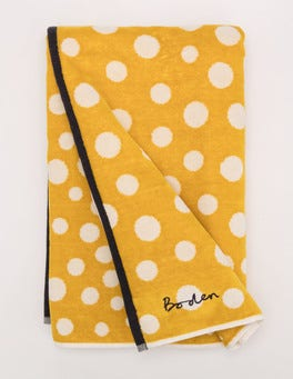 Mimosa Gradient Spot Beach Towel