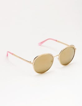 Gold Pamplona Sunglasses