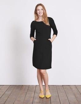 Black Hannah Jersey Dress