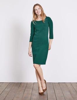 Deep Forest Hannah Jersey Dress