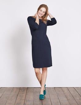 Navy Hannah Jersey Dress