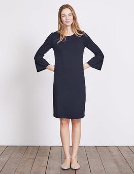 Navy Lavinia Ponte Dress