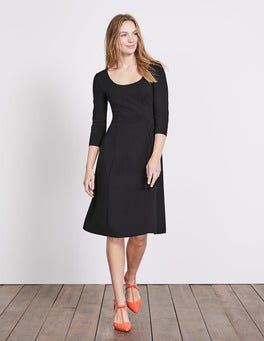Black Julianna Ponte Dress