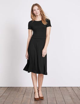 Black Portia Jersey Dress