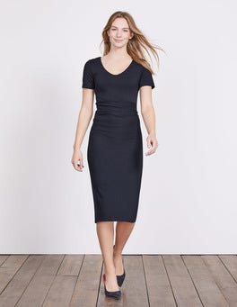 Navy Honor Ponte Dress