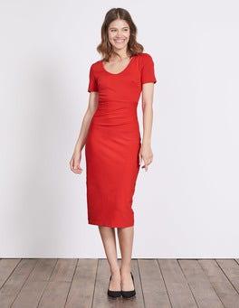 Post Box Red Honor Dress