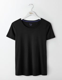 Black Supersoft Easy Tee