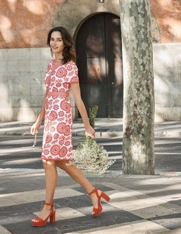 Mila Broderie Dress