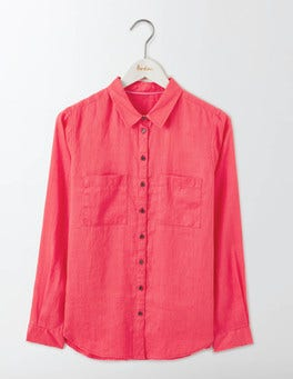 Strawberry Sundae The Linen Shirt