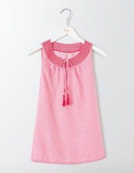 Pink Fizz Geo Miranda Top