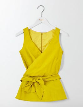 Mimosa Yellow Riviera Top