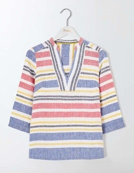 Multi Stripe Rosemary Top
