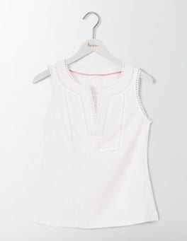 White Abigail Top