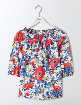 Multi Bloom Edie Top
