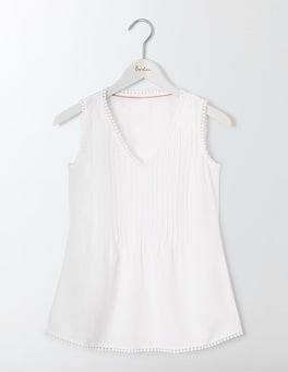 White Valencia Top