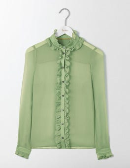 Greenhouse Grace Silk Shirt